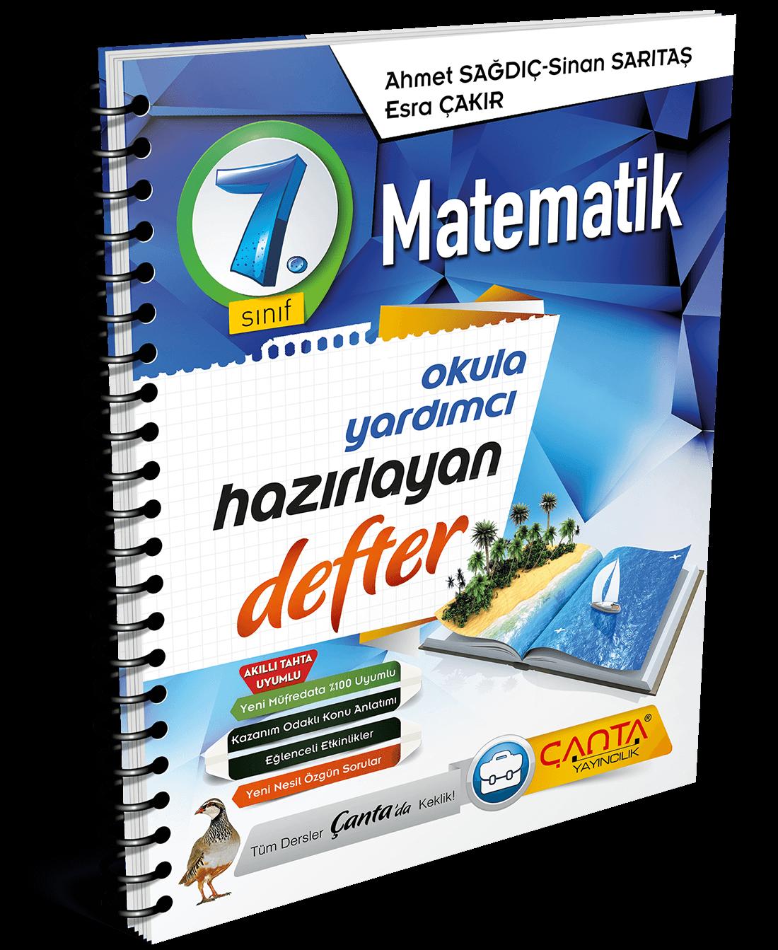 7. Sınıf – Matematik Hazırlayan Defter