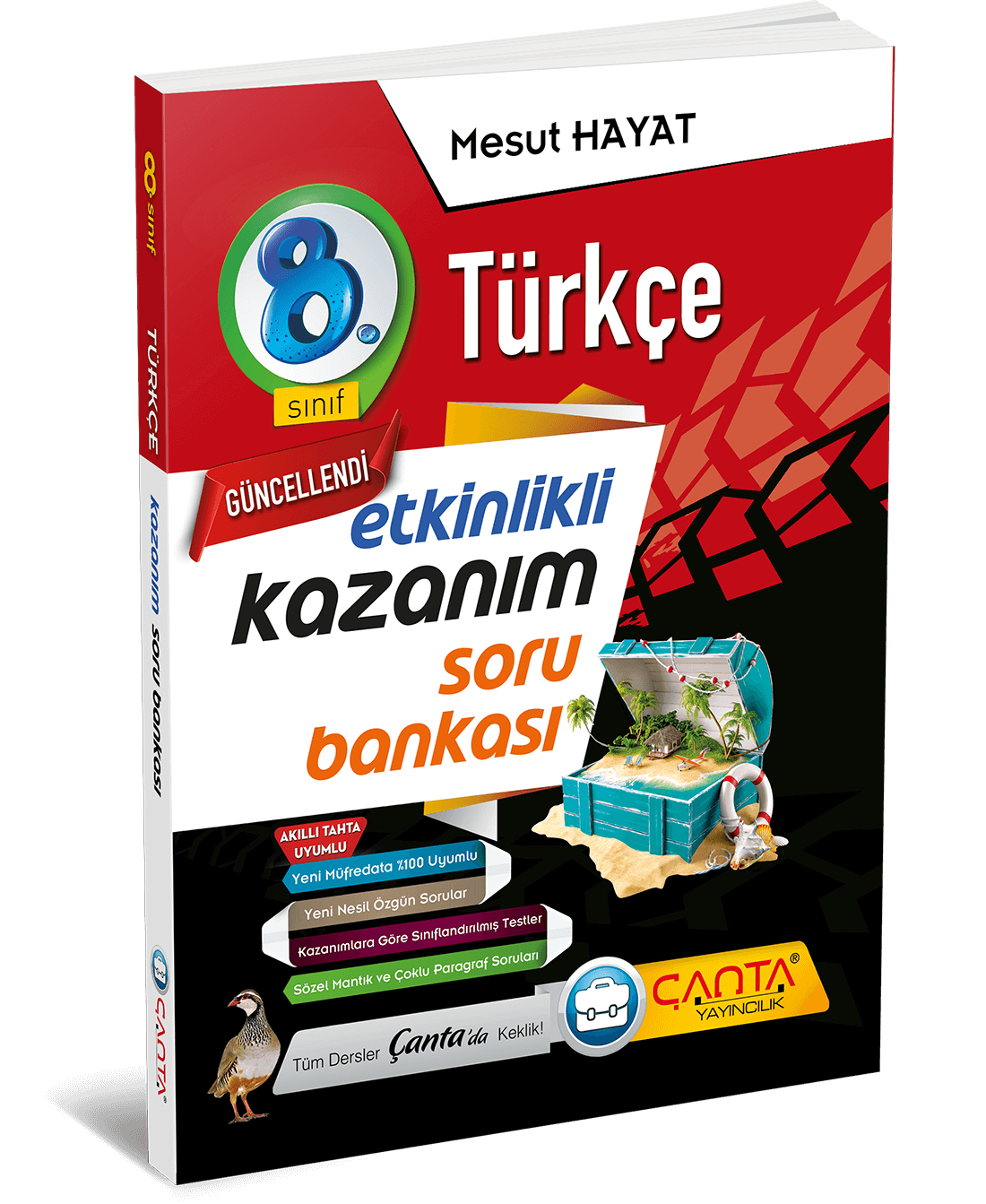 8. Sınıf – Türkçe Etkinlikli Kazanım Soru Bankası