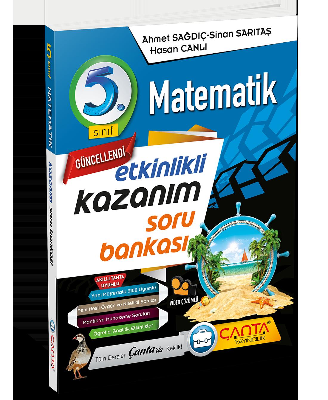 5. Sınıf – Matematik Ekinlikli KazanımSoru Bankası