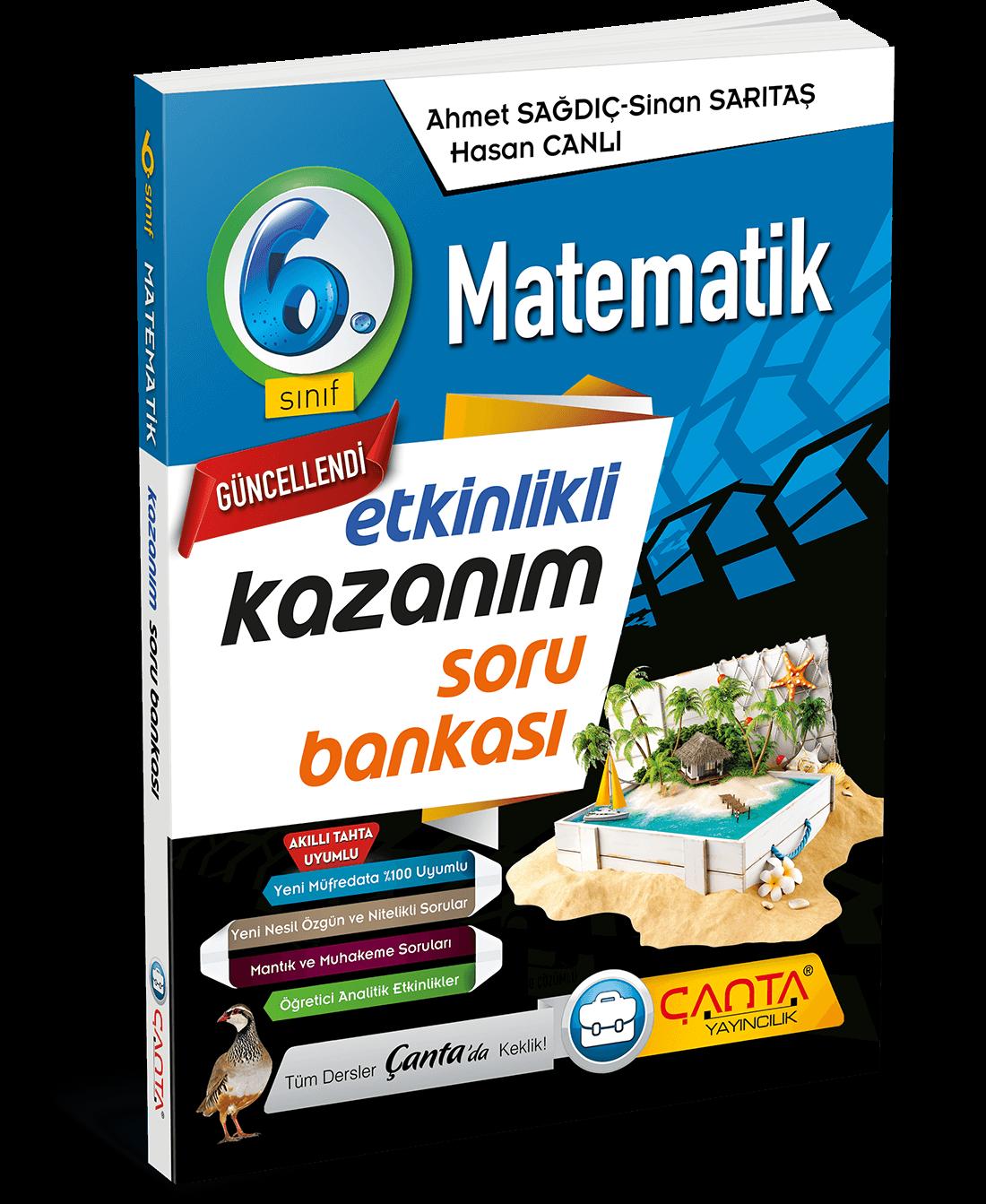 6. Sınıf – Matematik Ekinlikli KazanımSoru Bankası