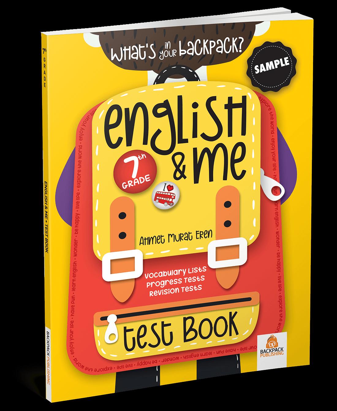 7. Sınıf – English & Me Test Book