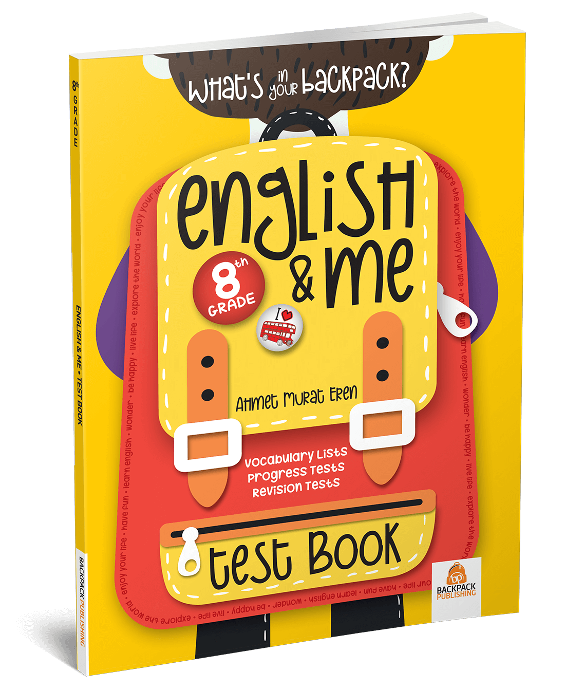 8. Sınıf – English & Me Test Book