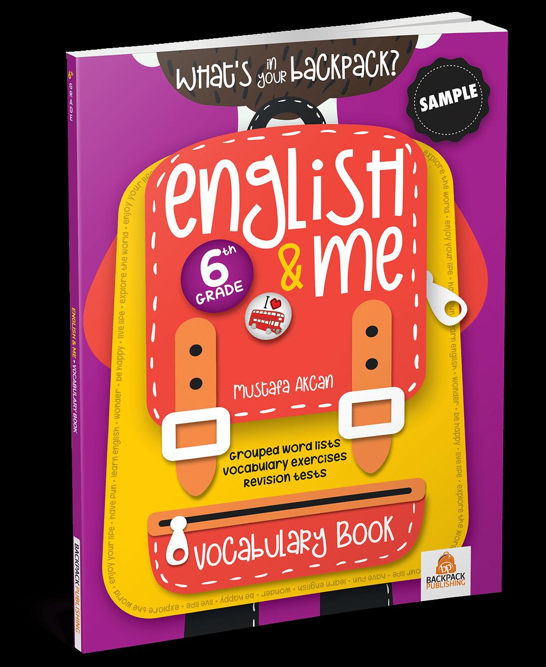6. Sınıf – English & Me Vocabulary Book