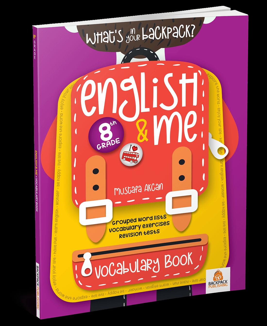 8. Sınıf – English & Me Vocabulary Book